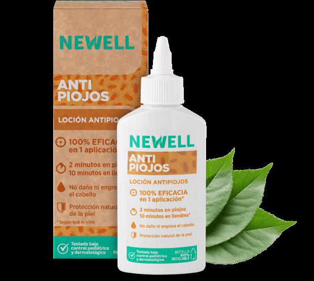 newell loción tratamiento antipiojos