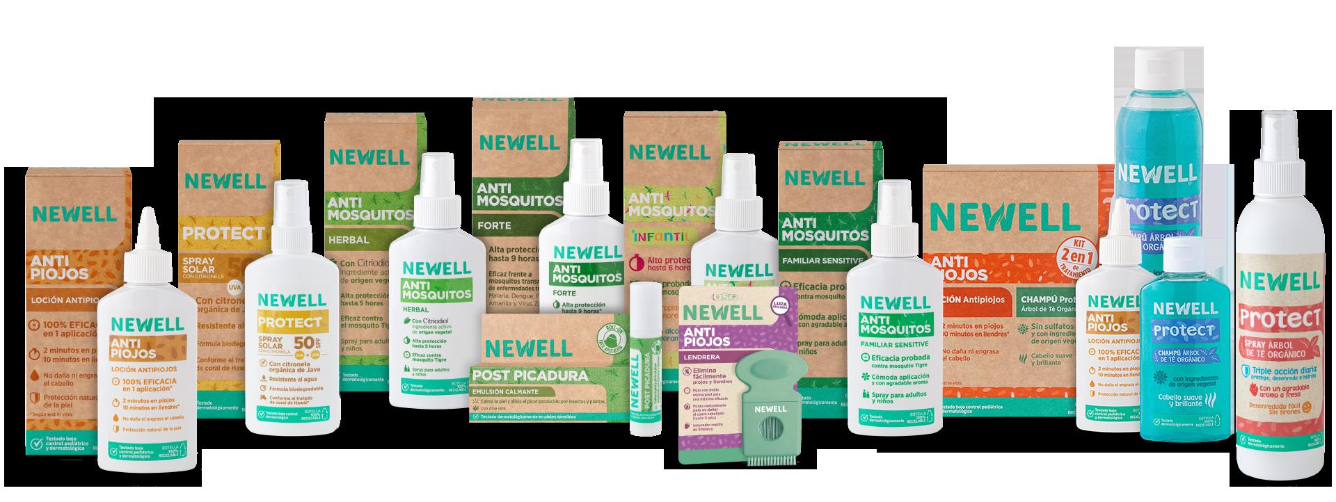 gama completa newell